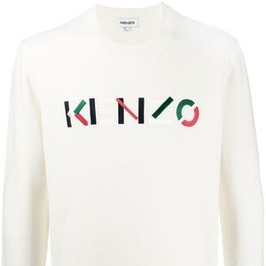 AUTHENTIC KNIT KENZO EMBROIDERED JUMPER XS